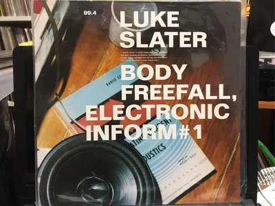 LUKE SLATER/BODY FREEFALL,ELECTRONIC INFORM#1 電子音樂 黑膠唱片