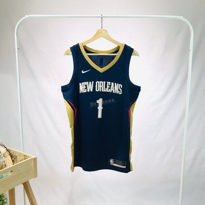 【Dr.Shoes 】Nike NBA 紐奧良鵜鶘 Zion Williamson #1背心 球衣 CW3674-424