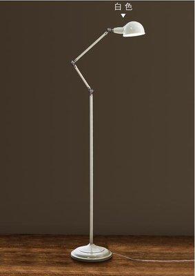 旭呈北歐落地燈書房閱讀燈客廳臥室歐式簡約現代美式創意立式檯燈