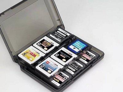 N3DS 3DSLL卡帶盒 28合1卡帶收納盒 收納盒 卡盒收藏 3DS遊戲盒 卡盒 直購價150元 桃園《蝦米小鋪》