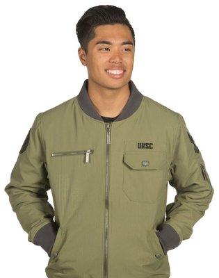 【丹】J!NX_HALO UNSC BOMBER JACKET 最後一戰 外套 夾克