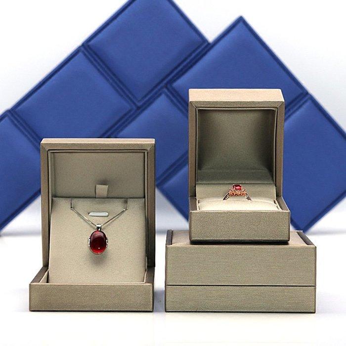 珠寶盒項鏈手鐲盒吊墜盒戒指盒高檔PU首飾禮盒首飾包裝盒婚禮批發