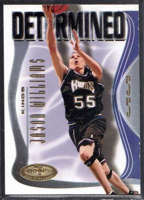 00-01 FLEER NBA HOOPS PROSPECTS DETERMINED #5 JASON WILLIAMS