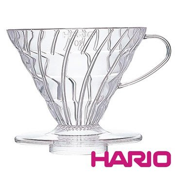 🌟現貨🌟HARIO V60 VD-01T 螺旋濾杯透明 樹脂濾杯 濾杯 錐形濾杯 環保濾杯 手沖濾杯