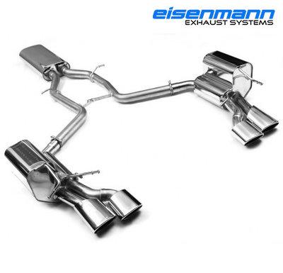 【樂駒】Eisenmann Mercedes-Benz W204 S204 C204 中尾段 排氣管 四出 橢圓 AMG