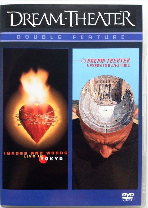 2DVD/ Dream Theater - 1993-1998世界巡迴演唱會 二手歐版 華納音樂