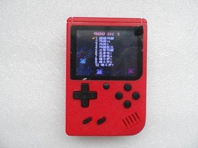 *二手*復古  經典  迷你掌上遊戲機GameBox 400合1 (紅色) 新北市