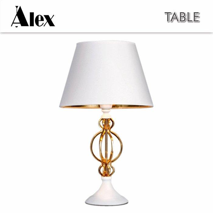 【Alex】蕭邦桌燈 / 黑色 / 白色 / E27