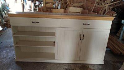 戀戀小木屋  備餐櫃  收納櫃   馬賽克收納櫃