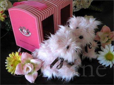 Juicy Couture Dog 粉紅狗狗 MP3 桌上電腦喇叭一組精緻可愛禮盒裝 免運費 愛Coach包包
