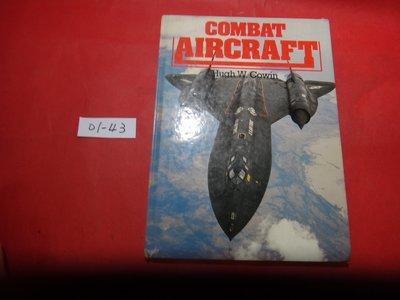 【愛悅二手書坊 01-43】Combat Aircraft        Hugh Cowin(書口寫字)