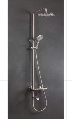 FUO 衛浴: 304不鏽鋼 頂噴 手持花灑 龍頭 多功能 淋浴柱(FD30005) 現貨!