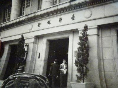 190825~台灣銀行人力車~相關特殊(一律免運費---只有一張)老照片