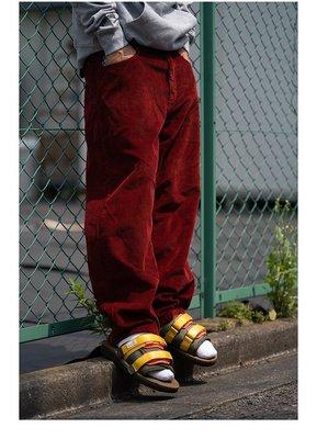 Kako正韓潮流男裝潮物woo Polar Skate Co 93 Cords Pants 半寬松燈芯絨滑板長褲潮