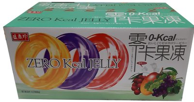 【回甘草堂】盛香珍 零卡果凍 綜合口味(荔枝,葡萄,芒果) 6公斤量販箱裝(約230顆) 好吃沒負擔
