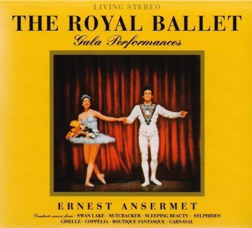 【進口版】皇家芭蕾 The Royal Ballet / 安塞美---BMCD840