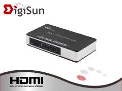 【開心驛站】含稅含運~DigiSun VH718 4K2K HDMI一進八出影音分配器