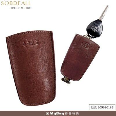 SOBDEALL 沙伯迪澳 皮夾 伸縮式鑰匙圈 牛皮 205010169 得意時袋