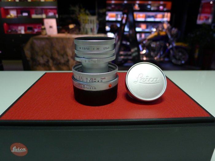 【日光徠卡】Leica Elmar-M 50mm f/2.8 銀色 二手 #3702***