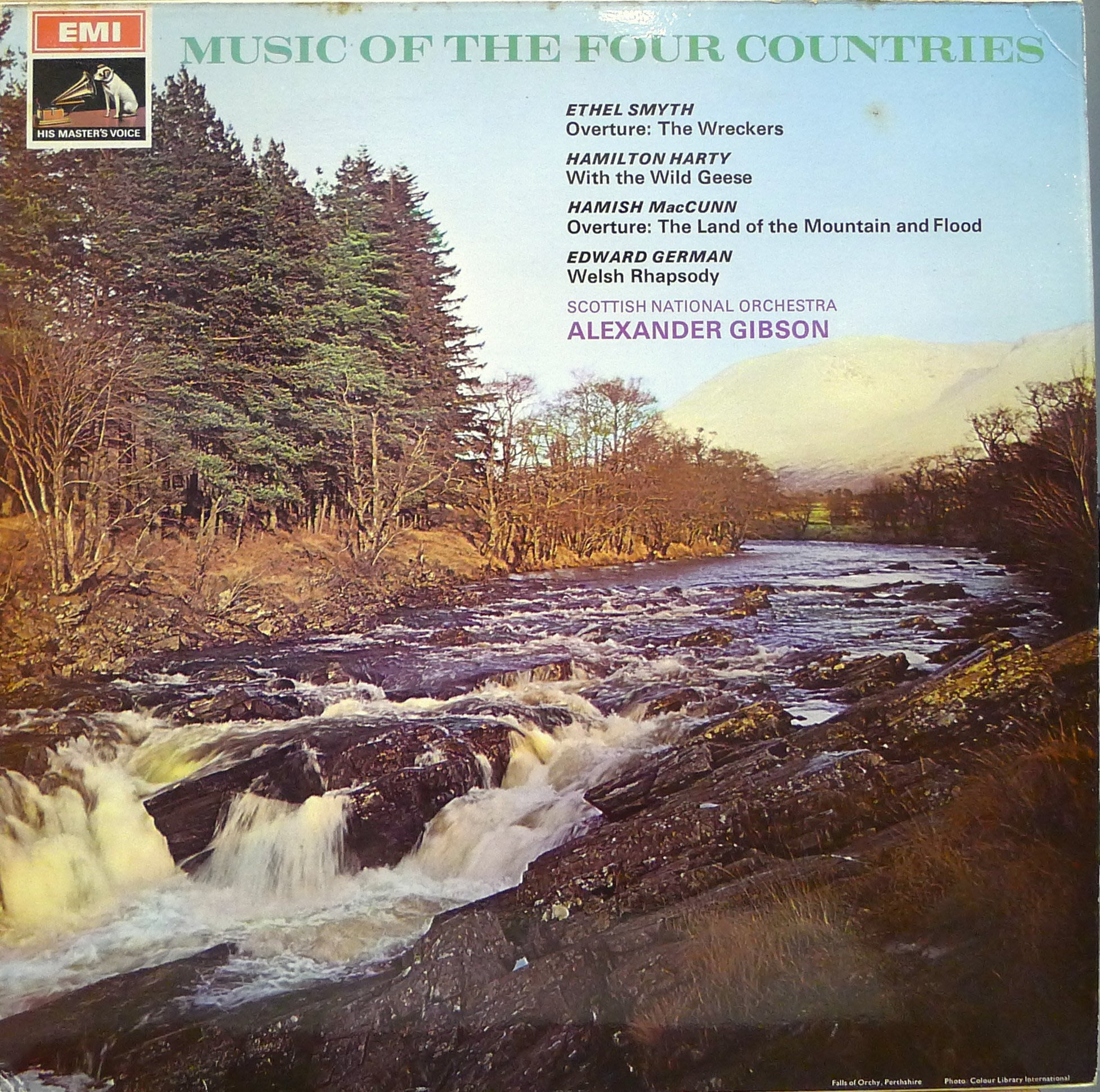 §小宋唱片§英版EMI/史密斯:序曲、/亞歷山大·吉布森/皇家蘇格蘭國家管弦樂團/二手古典黑膠