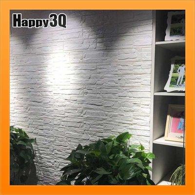 文化石壁貼立體牆紙泡棉柔軟防撞電視背景牆客廳餐廳-白/黑/綠/藍/灰/粉/黃/棕/紫【AAA3029】