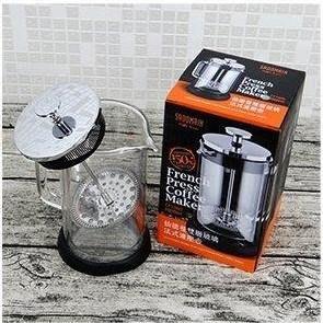 仙德曼 SADOMAIN 雙層玻璃法式濾壓壺 1000ml 玻璃壺/ 沖茶壺 CF1000 台南市