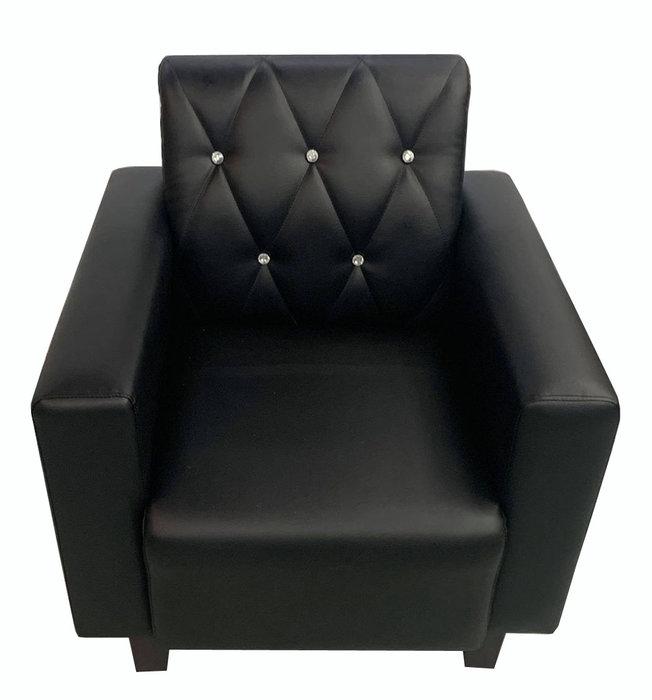 【宏品二手家具館】台中全新中古家具拍賣 SX807BA*全新單人座黑皮沙發*客廳桌椅 電視櫃 書櫃 新竹台北南投苗栗彰化