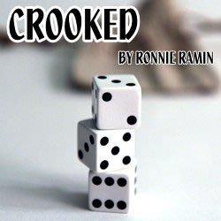 意凡魔術小舖】2014全球最新魔術--搞怪骰子(Crooked+DVD)