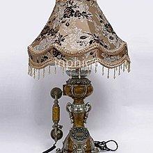 INPHIC-歐式復古檯燈電話 家用仿舊有繩電話創意田園床頭燈