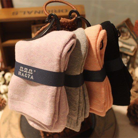 日本秋冬女毛襪 加厚保暖素色女士中筒襪 加厚 保暖 兔羊毛日本女襪 保暖襪 日本厚襪 6雙890元