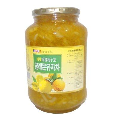悠遊友柚◎高麗購超商取貨專區/正友蜂蜜檸檬柚子茶2公斤1瓶.../