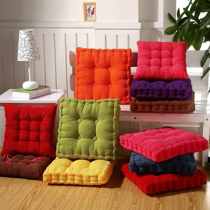 加厚椅子坐墊餐椅墊沙發墊水果坐墊胖胖坐墊柔軟舒適立體坐墊沙發墊辦公室椅墊汽車坐墊腰墊沙發棉墊 沙發坐墊沙發墊子沙發
