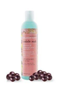 美國專業美甲品牌CUCCIO 莓漿果茶樹浸泡露 8 oz. soak Aronia Berry&Tea Tree