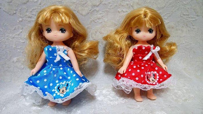 Blythe/小布/莉卡 莉卡妹妹 迷你娃娃 迷你麗佳