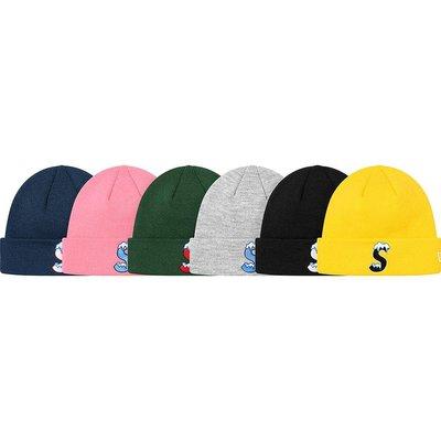 【紐約范特西】預購 Supreme FW20 x New Era S Logo Beanie 聯名款 毛帽