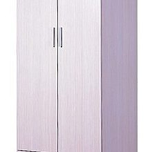 E-Style 簡易生活網 象牙白色系 24寸高身掩門衣櫃 免費送貨連安裝