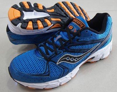 *世偉運動精品* SAUCONY 25156-10  GRID COHESION 6 藍黑慢跑鞋 男款