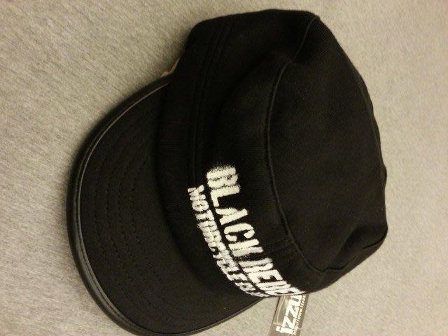 香港品牌IZZUE男帽子 黑色