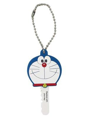 【卡漫迷】  Doraemon KEY造形頭 微笑 日版 ㊣版 多拉A夢 哆拉 小叮噹 吊飾 橡皮 鑰匙套 鑰匙圈