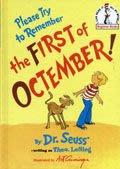 *小貝比的家*PLEASE TRY TO REMEMBER THE FIRST OF OCTEMBER! /精裝*Dr. Seuss (蘇斯博士)