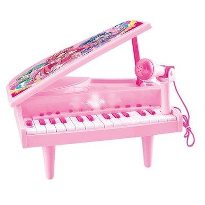 哆啦本鋪 兒童節禮物兒童電子琴帶麥克風女孩鋼琴玩具嬰兒早教啟蒙音樂小孩小鋼琴D655
