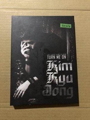 *還有唱片二館*KIM KYO JONG / TURN ME ON 二手 B0414 (下標幫結)