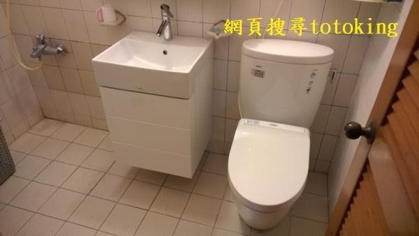 TOTO馬桶CW260+緩降蓋TC301+LW727臉盆+龍頭TWL372+727浴櫃