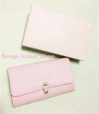 PANDORA潘朵拉 全新真品正貨粉紅色飾品收納包袋