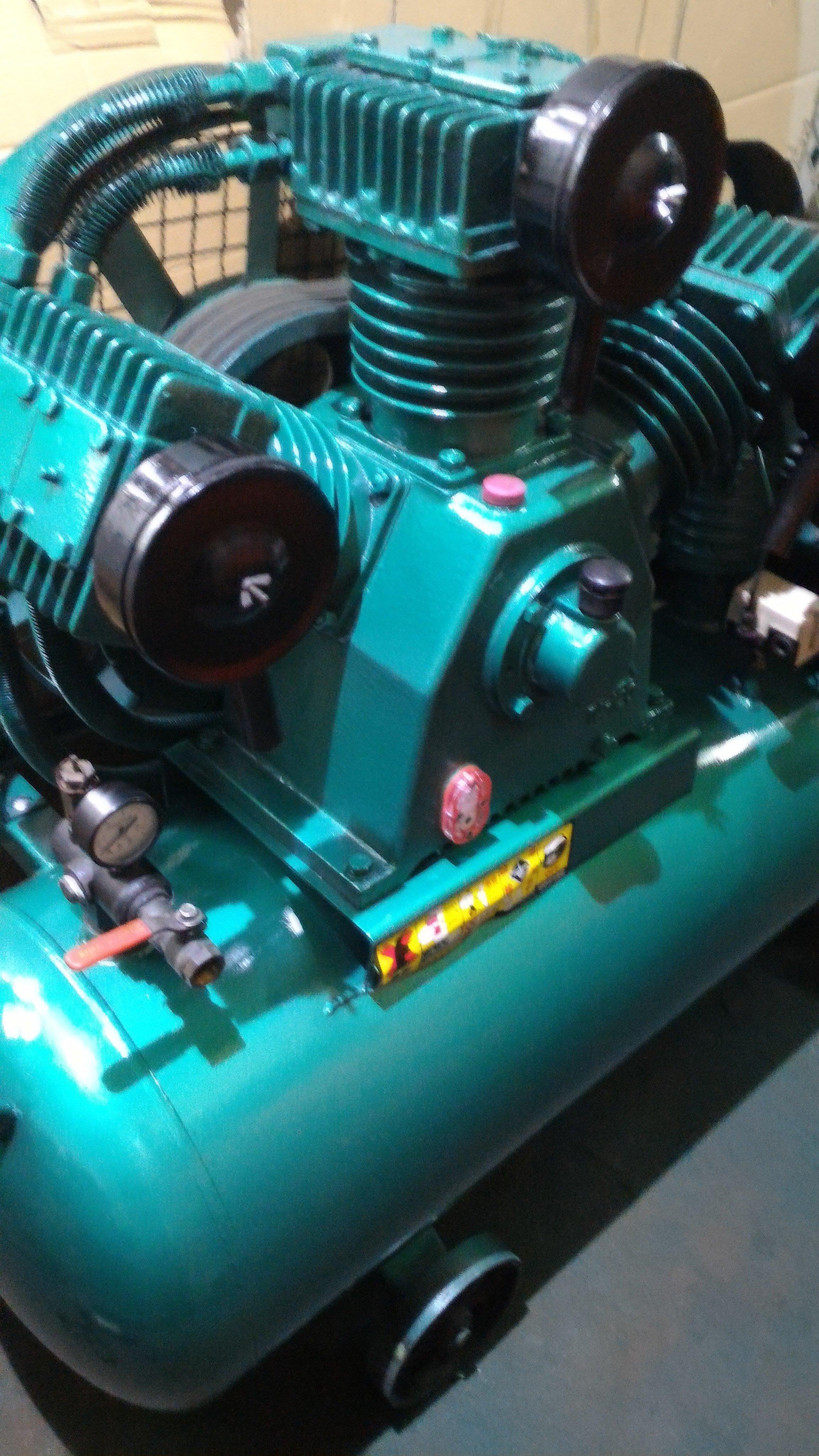 中古復盛15HP空壓機(東元三相馬達 220V 各式中古空壓機庫存量多 且不定期更新  )