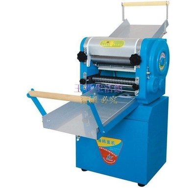 【凱迪豬廠家直銷】 大型立式電動壓麵機切麵條機DZM-300型壓軸25公分30KGH壓餃子皮包子皮
