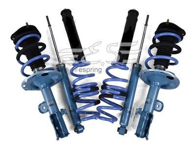 阿宏改裝部品 06- PREVIA KYB NEW SR 藍桶 + TS 短彈簧 總成 可刷卡