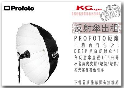凱西影視器材 PROFOTO Umbrella Deep M White 深型白底反射傘 105公分 出租