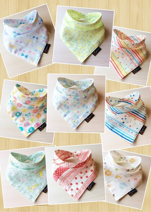 *樂芙領巾/手作* 手工領巾下標區 (日本雙層紗布) 嬰兒/兒童三角巾、口水巾、圍兜,