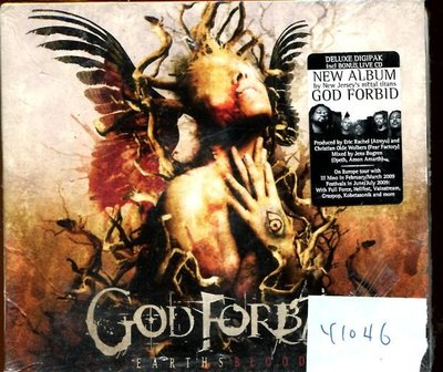 *真音樂* GOD FORBID 2CD 德版 全新 K1046 (內殼切痕) (139下標賣3)